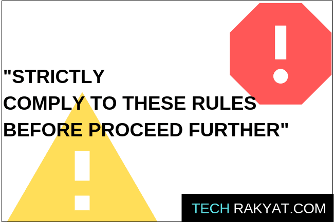 must know credit card rules