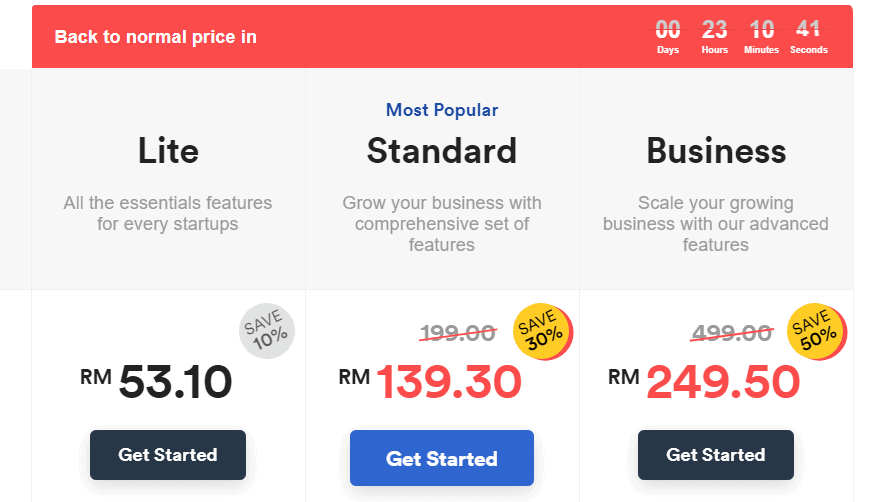 easystore pricing