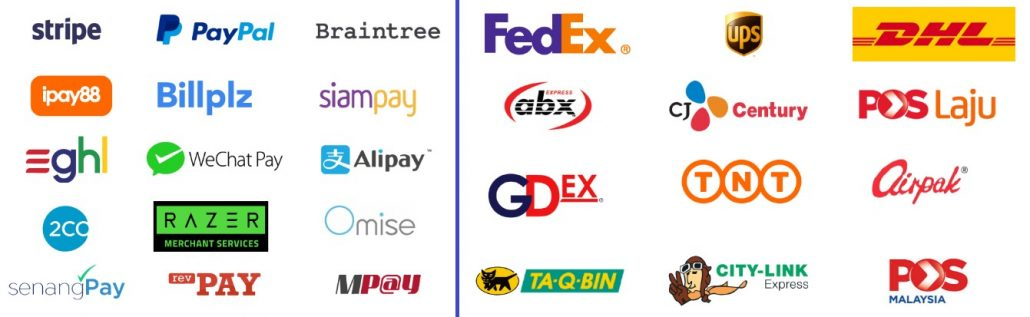 easystore app payment and shipment gateway