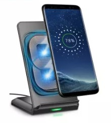 gift for men 2- CHOETECH Wireless Charger Stand,