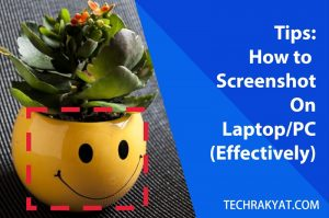 how to screenshot on laptop fast and accurately